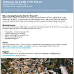 Maynard Residents Encouraged to Attend Public Forum on Future Community Housing Plans