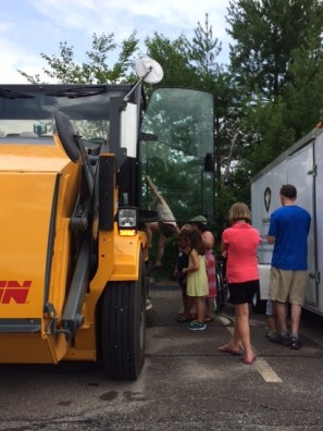 Truck Day 2015 Sweeper