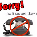 TOWN HALL PHONE SYSTEM IS DOWN