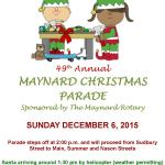 49th Annual Christmas Parade December 6th