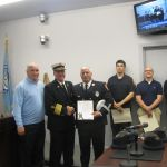 Photos: Maynard Fire Department Recognizes Firefighters During Ceremony