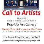 Gruber Building Pop-Up Art Gallery – Call to Artists!
