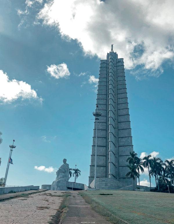 Memorial a José Martí. Plaza de la Revolución. Habana, Cuba