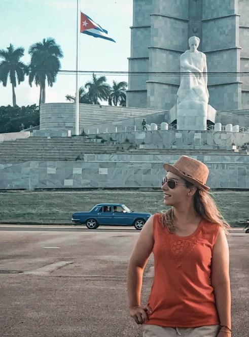 Plaza de la Revolución con Memorial a José Martí de fondo. La Habana, Cuba