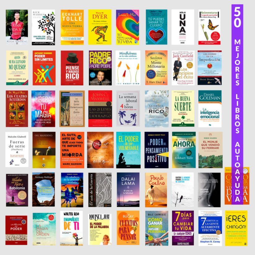 Los 50 Mejores Libros De Superación Personal Y Autoayuda