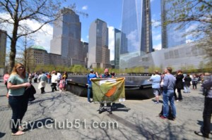 Mayo fans in New York 4th May 2014