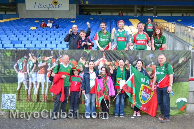 Roscommon v Mayo fan photos 2014