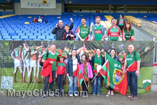 Roscommon v Mayo fan photos 2014