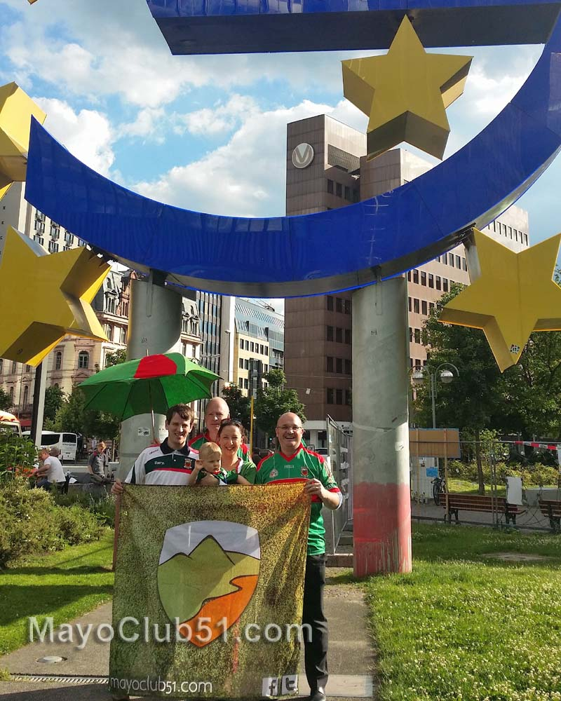Route 51 Flag Lands In Frankfurt