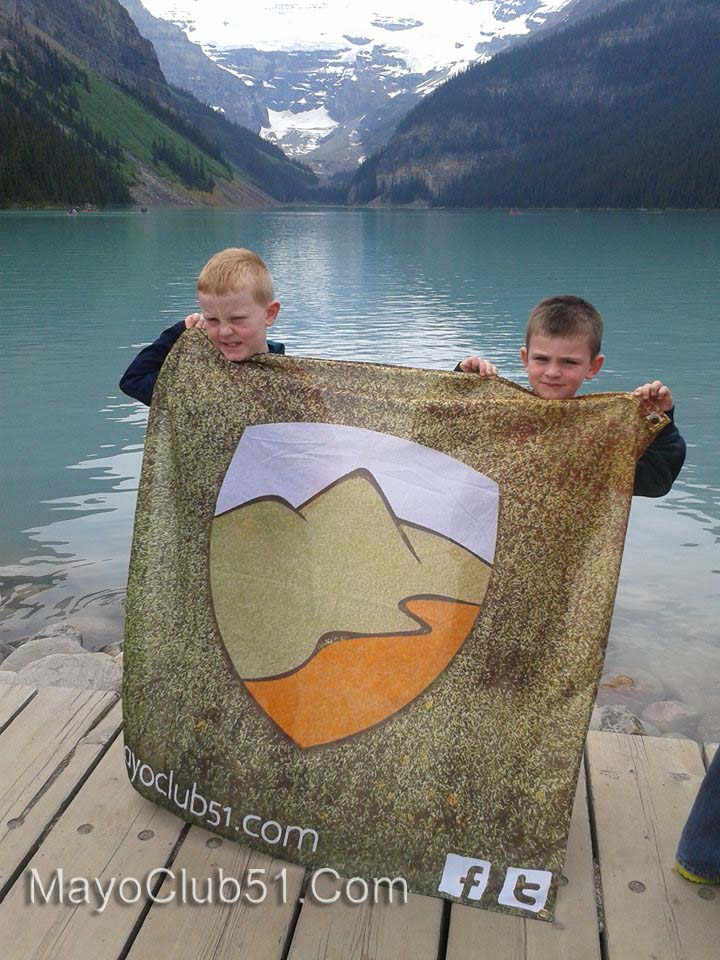 Route 51 Flag Lands in Calgary Canada