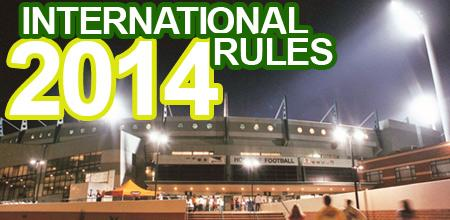 2014 international rules series