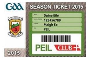 cairde mhaigheo season ticket 2015