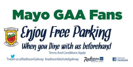 Radisson free parking