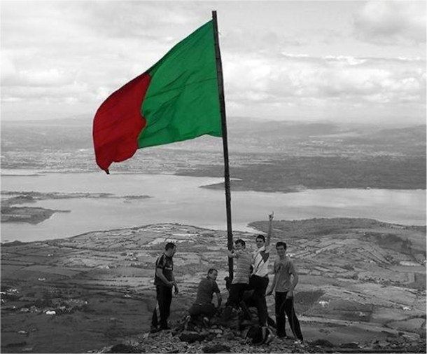 Mayo-flag-on-Nephin