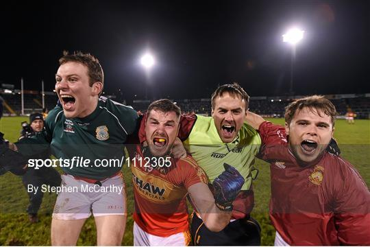Castlebar Mitchels celebrate after beating Crossmaglen Rangers