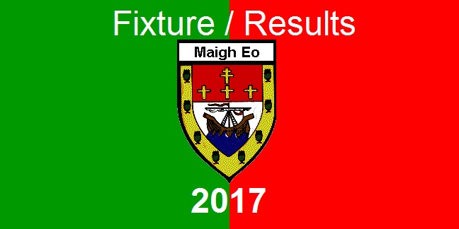 mayo gaa 2017 fixtures-results