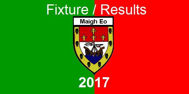 mayo gaa 2017 fixtures-results