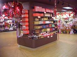commercial store shelving
