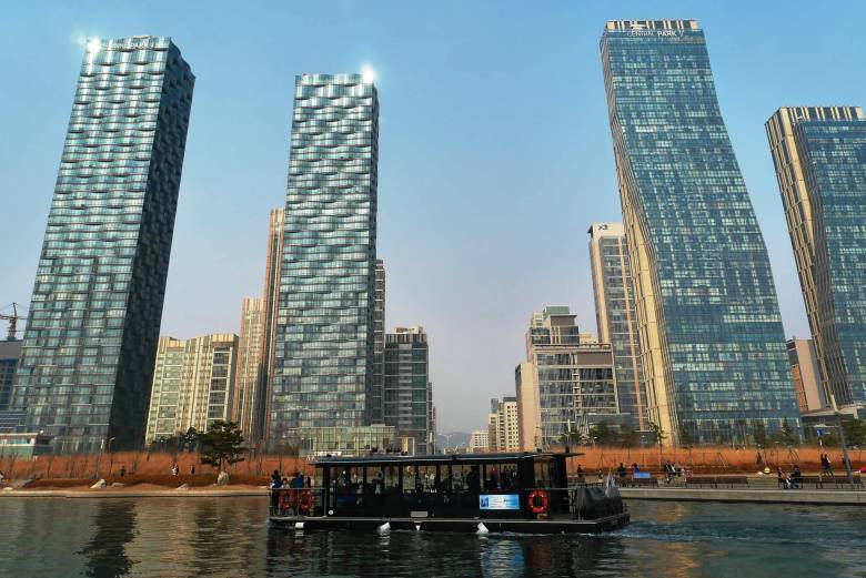 Songdo Central Park day time