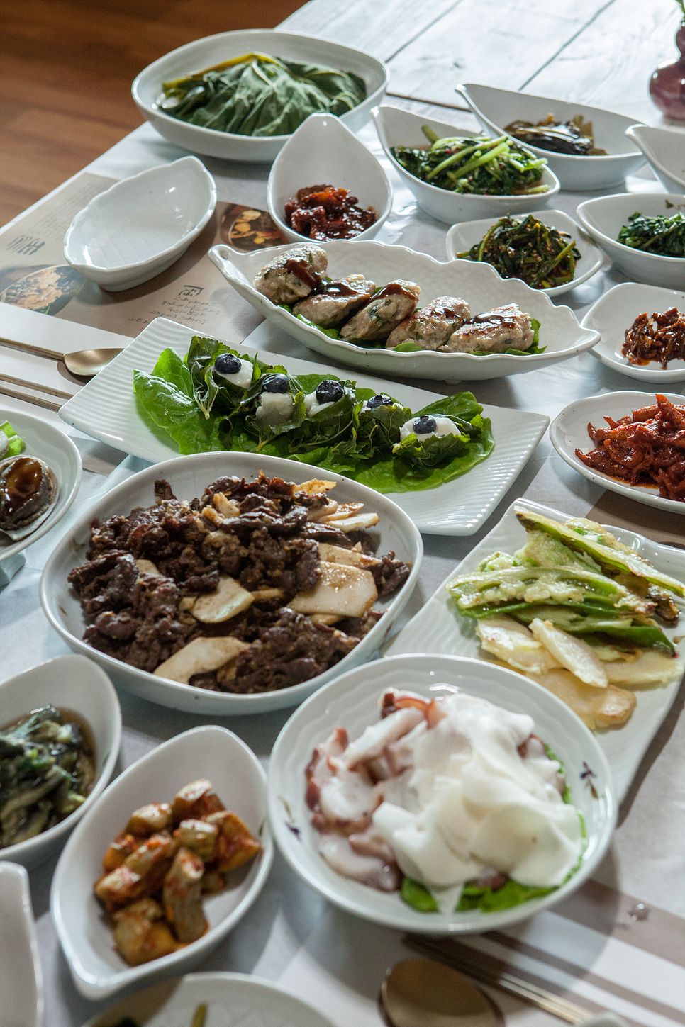 Andong Farmhouse Restaurant, Andong Yam Cuisine_Tteul
