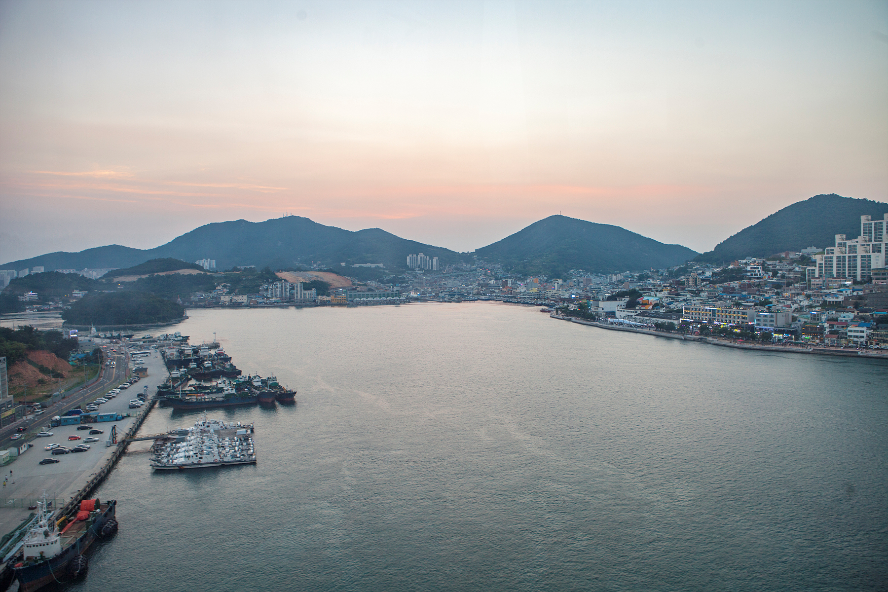 Korea's First Sea Crossing Cable Car_Yeosu Cable Car