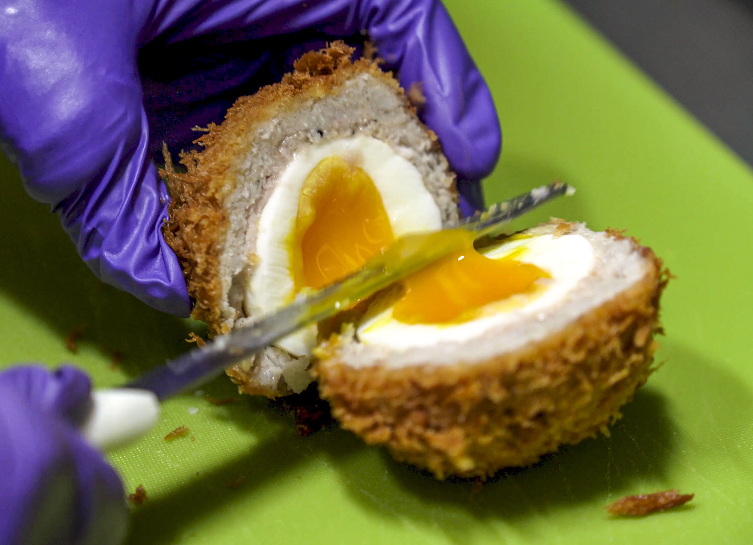 England Scotch Egg in Korea
