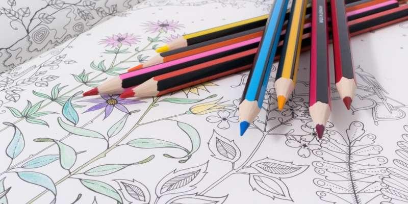 lápices para colorear mandalas