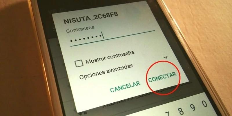 conectar wifi en el exo spanky facil 4g