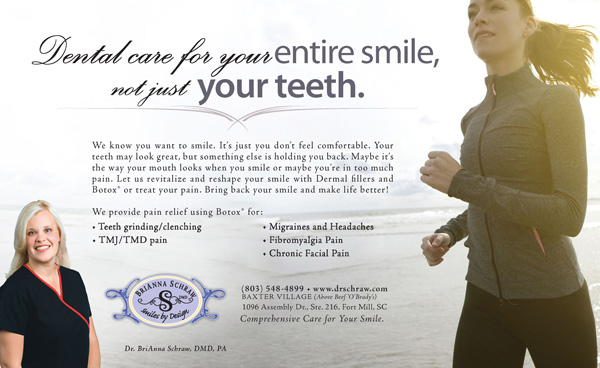 Award Winning Dentist Advertising Design