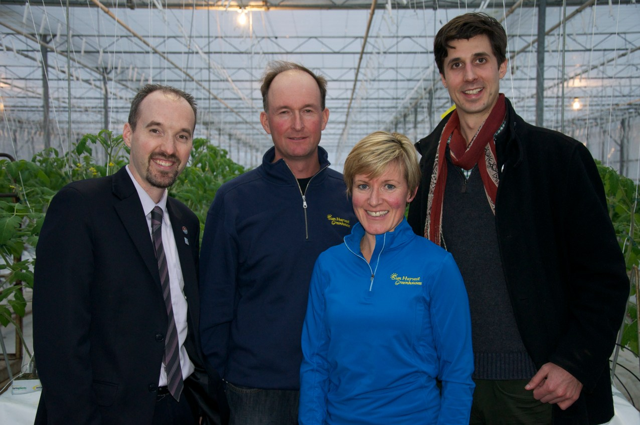 Visiting with Greg and Allison of Sun Harvest Greenhouse - Jan. 29