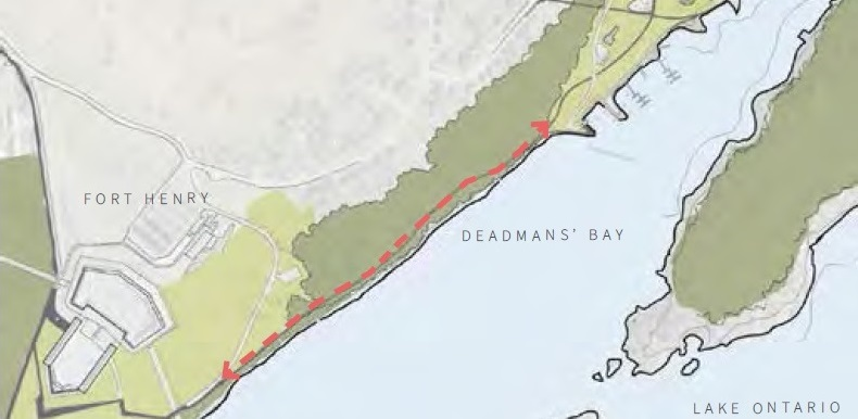 Deamans Bay overview - Waterfront Master Plan
