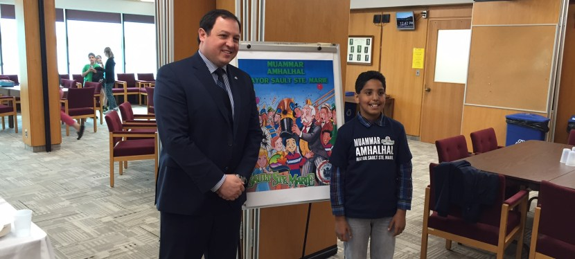 Our First Mayor for a Day