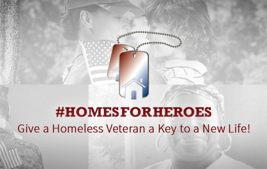 Homelessness Expansion: #HomesForHeroes