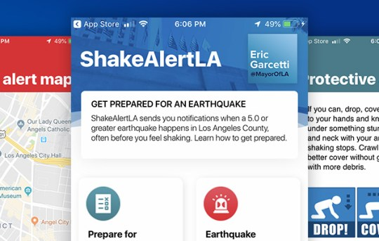 Earthquake Early Warning App