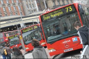 Pass holders are entitled to free travel on London's transport network including buses