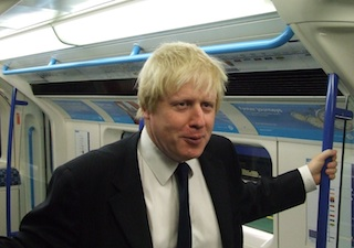 Boris campaigned against ticket office closures in 2008. Photo: MayorWatch