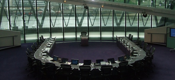 The Chamber at London City Hall