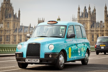 EE launches the UK's first ever fleet of superfast 4G taxis in London