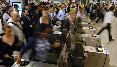 Tube bosses say more staff will be available to help passengers at ticket gates. Image: TfL
