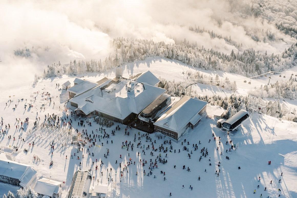 Top of Mont-Tremblant Ski Resort