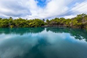 laguna de las ninfas santa cruz galapagos