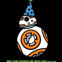 BB-8 is Ready to Party!  (DIY May the Fourth be with You Party Shirt)
