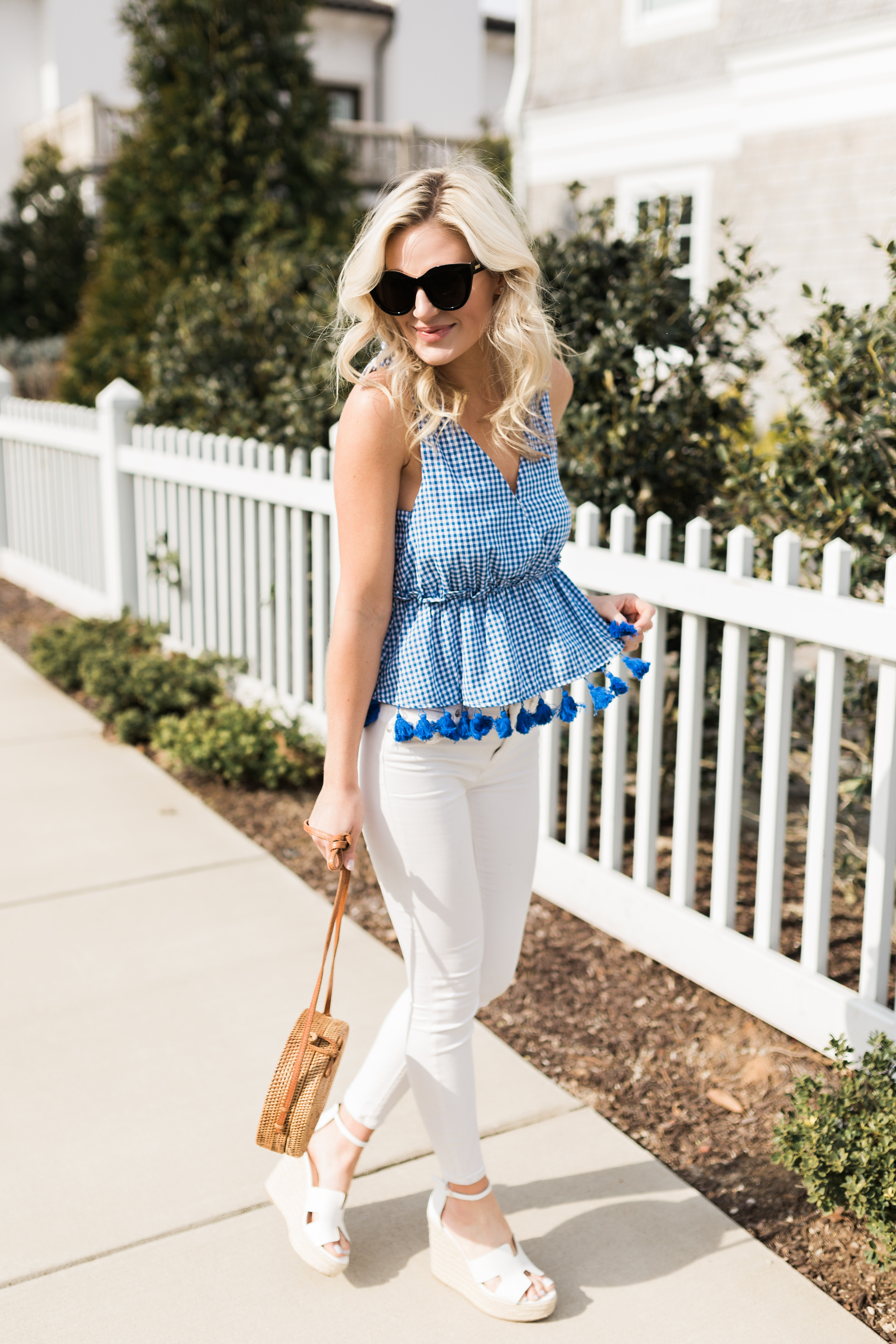 Southern Gingham Look