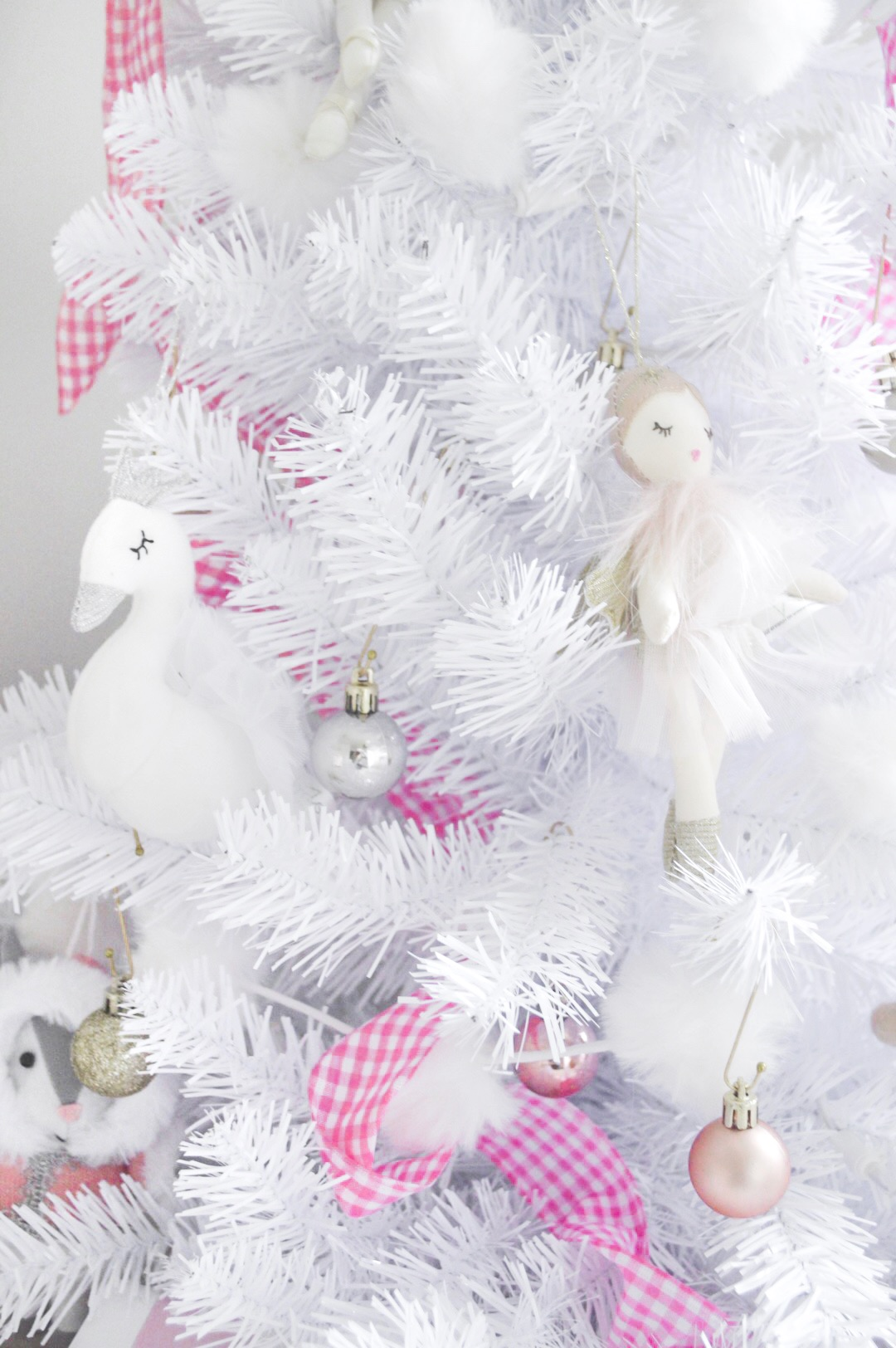 ballerina swan ornaments