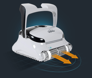 Dolphin Difference - Smart Scanning and Active Brush Technology (pictured)