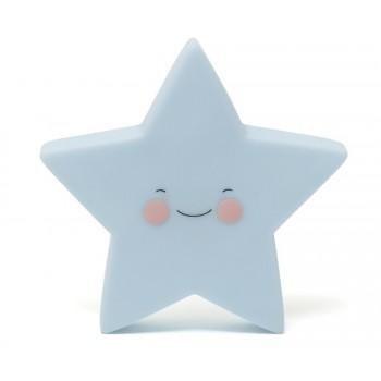 estrella azul lampara