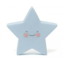 Lámpara quitamiedos estrella azul