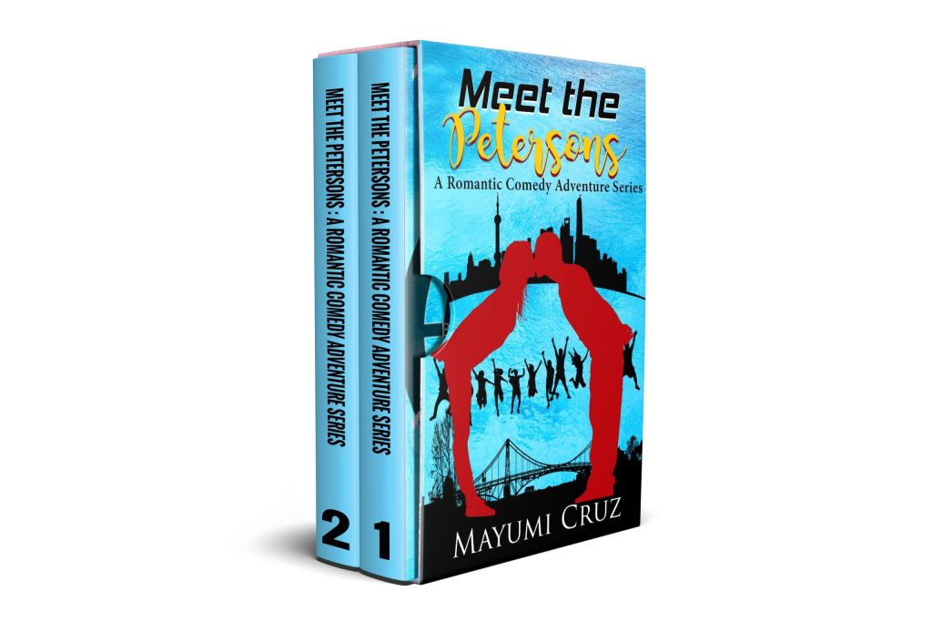 Meet the Petersons series bundle books by Mayumi Cruz