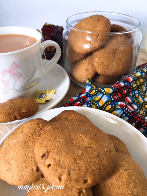 date and nut cookies 3