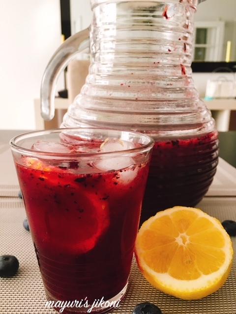 blueberry iced tea 1